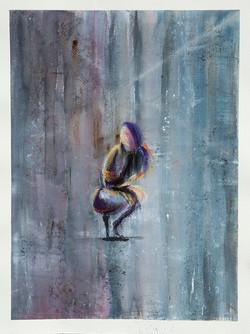 Figure Crouching