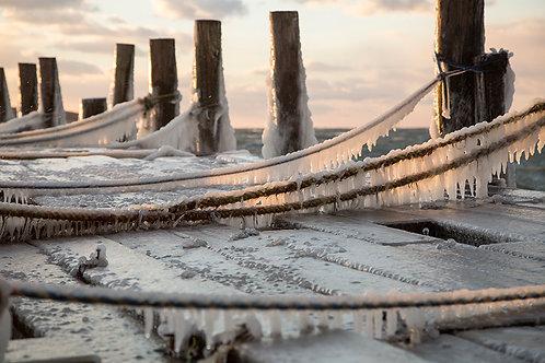 Montauk Frozen dock