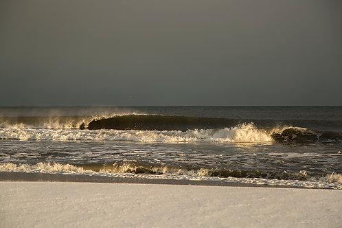 Winter Shore Line