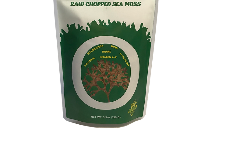 Raw Sea Moss 5.5 oz.