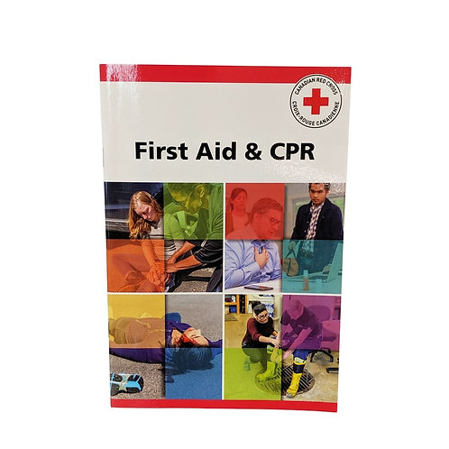 CRC First Aid & CPR Manual, English or French