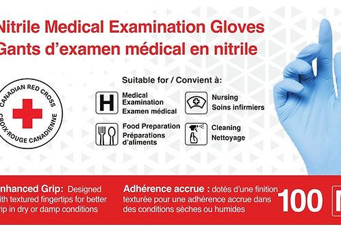 Nitrile Gloves, box of 100