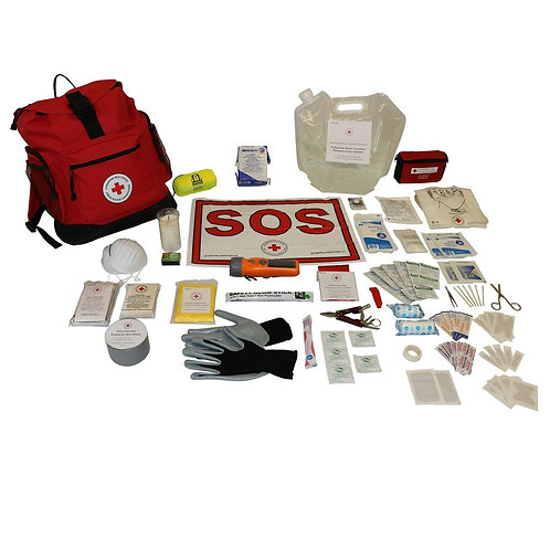 CRC Deluxe Disaster Preparedness Kits, 1-4 persons