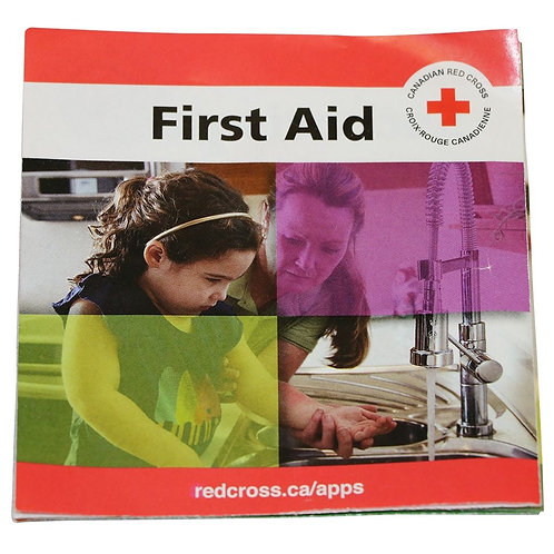 First Aid Guide, Bilingual, Reference Only