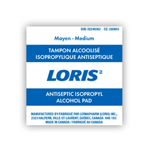 Alcohol Antiseptic Swabs, 100ct