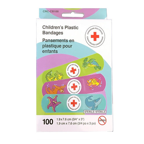 Children's Bandages, box of 100