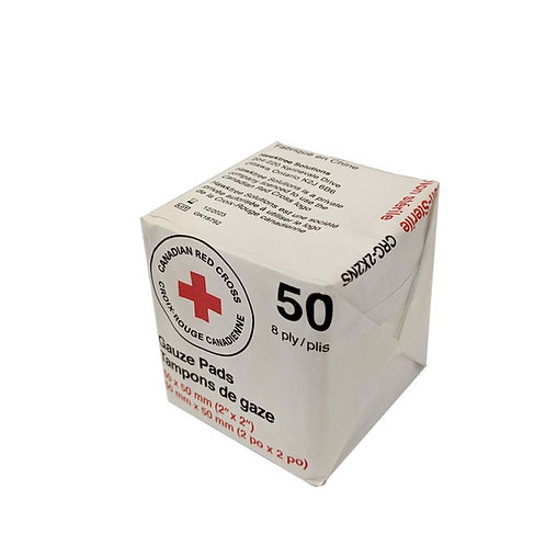 Non-Sterile Gauze, 8-ply, bag of 50