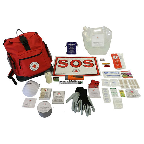 CRC Basic Disaster Preparedness Kits, 1-4 persons