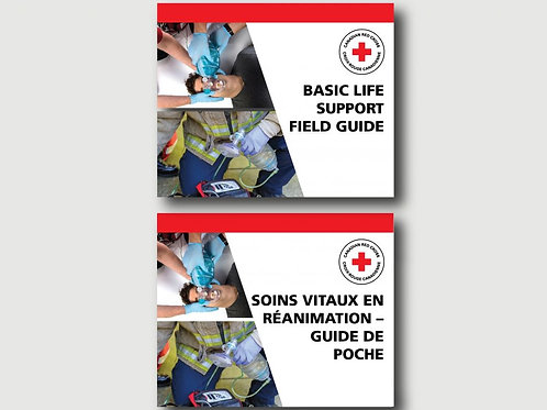 Basic Life Support Guide, English or French