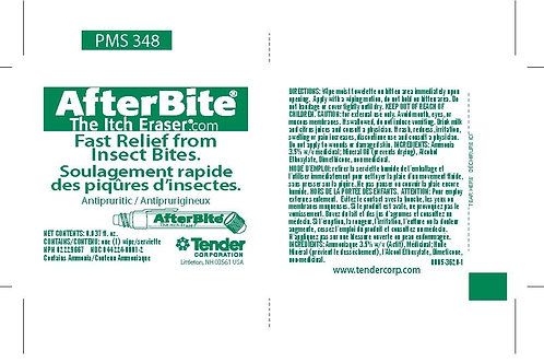 AfterBite Insect Relief Wipe