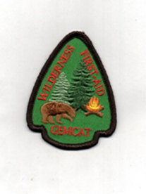 Wilderness First Aid Patch