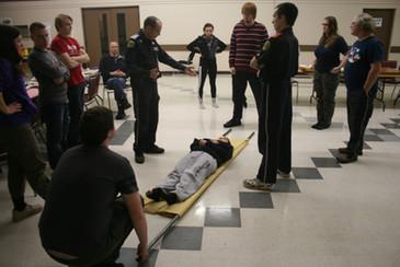 Stretcher Improvisation 1