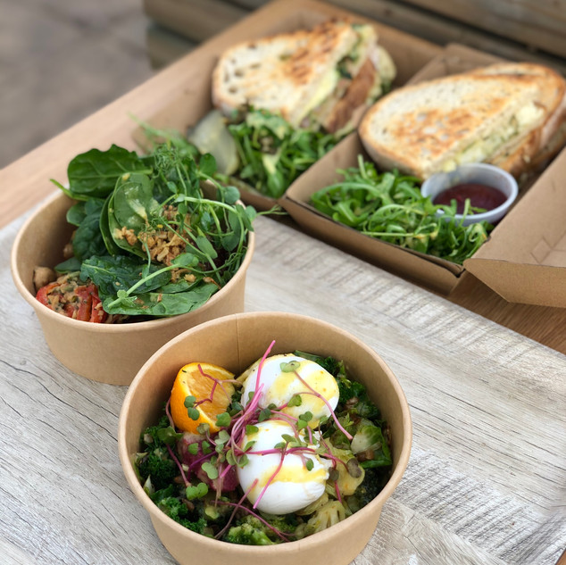 Warming Brunch Bowls & Sourdough Toasties