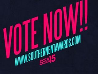 Vote Now! www.southernentawards.com -#ClubDJoftheYear