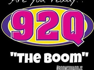 #BoomBoxShow Each & Every Saturday on 92Q