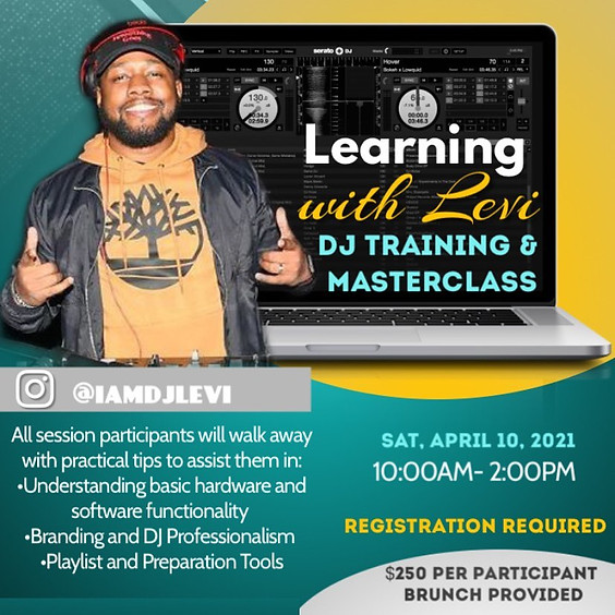 Learning with Levi - DJ Training
