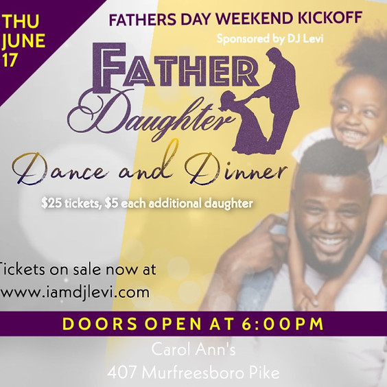 Father's Day Kickoff - Dance and Dinner