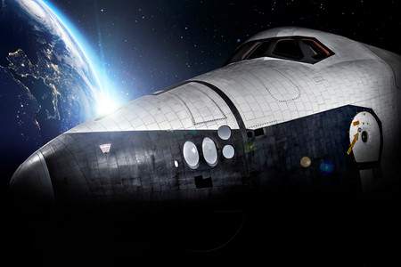 Rockwell Space Shuttle