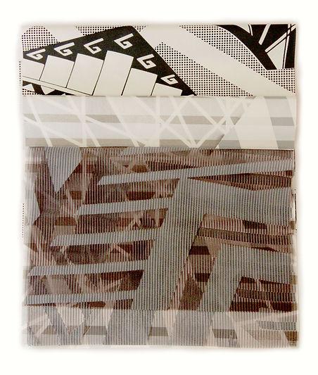 The indoor market printed fabrics