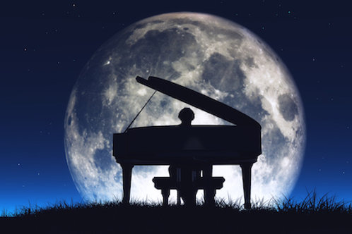 Behind The Moon in A Minor