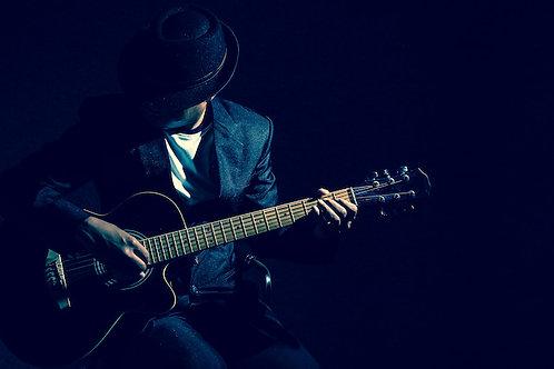 Romance in A Minor - Improvised Guitar