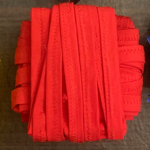 Red Handmade Cloth Face Mask