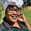 Thumbnail: Green Cotton Headwrap