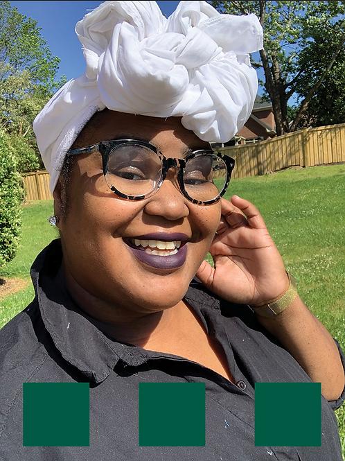 Green Cotton Headwrap
