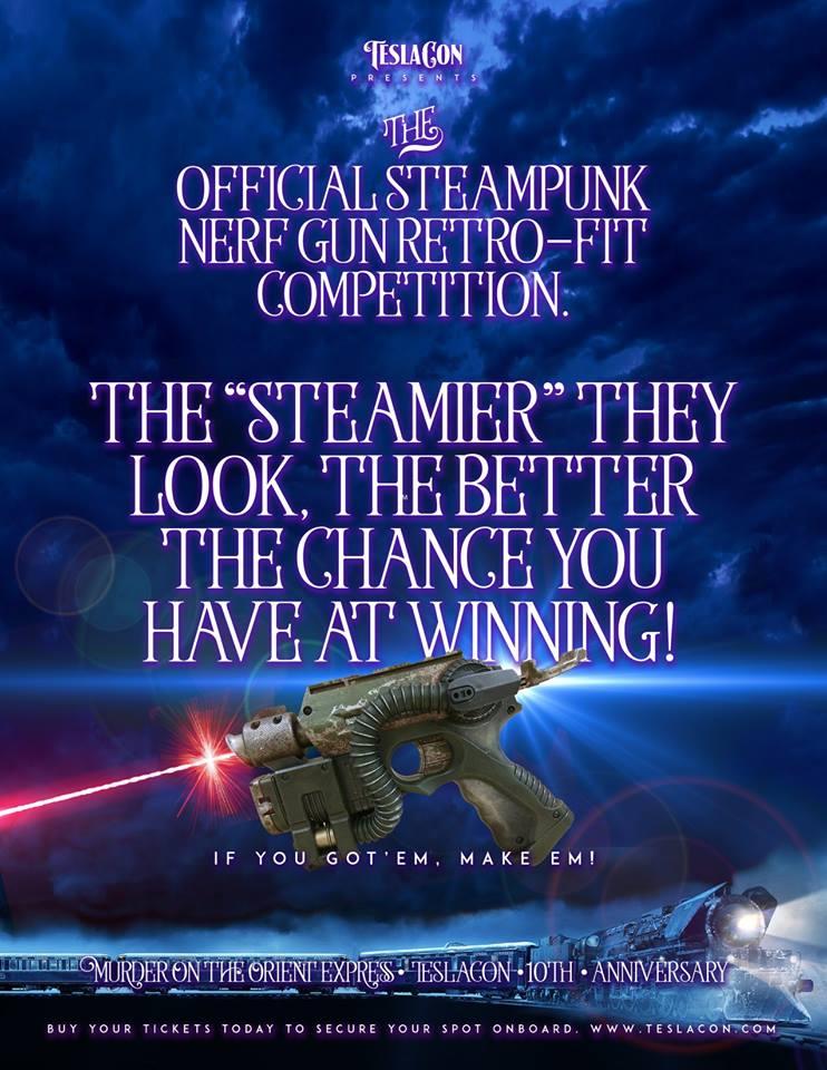 Nerf-Gun Retro-Fit Competition