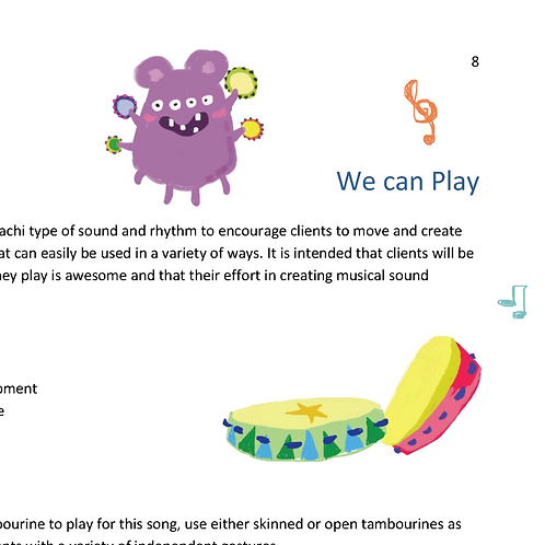 We can Play - Individual Song Resource