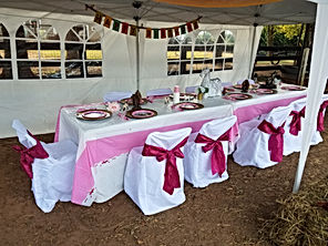 Pony part table decorations