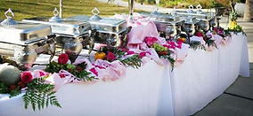 buffet-table-setting-ideas-chairs-set-up
