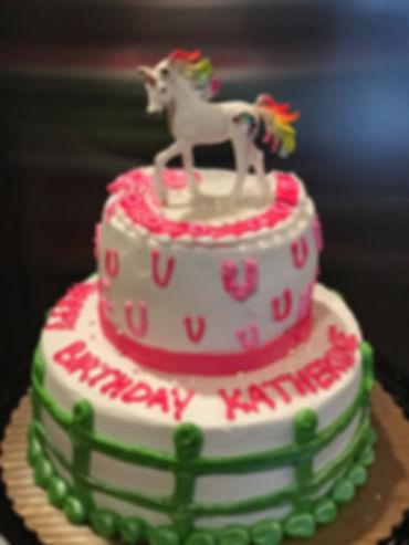 Pony party cake