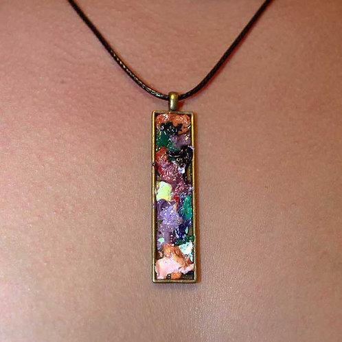Mosaic Palette Pendant