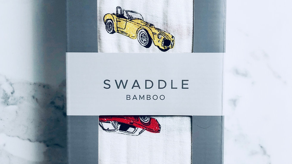 Swaddle Classic Cars Bamboo