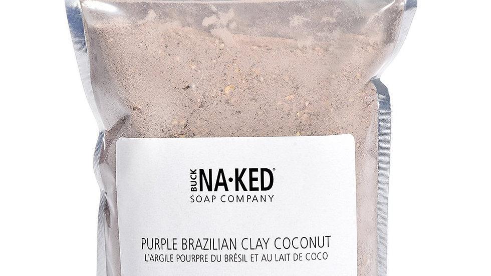 Purple Brazillian Clay Coconut Milk Bath