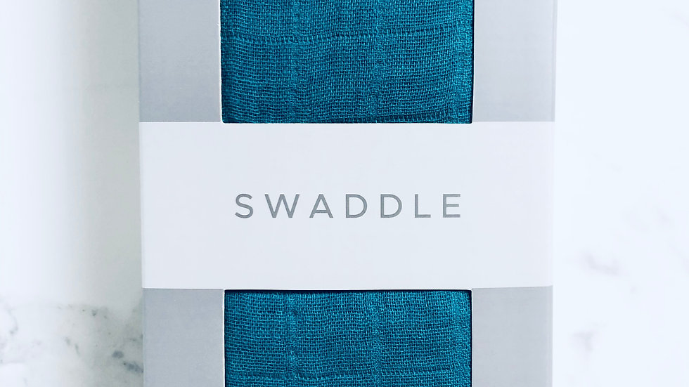 Swaddle Shaded Spruce 100% Cotton