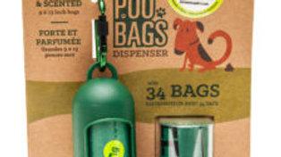 Dispenser + 2 Roll Doggy Bags