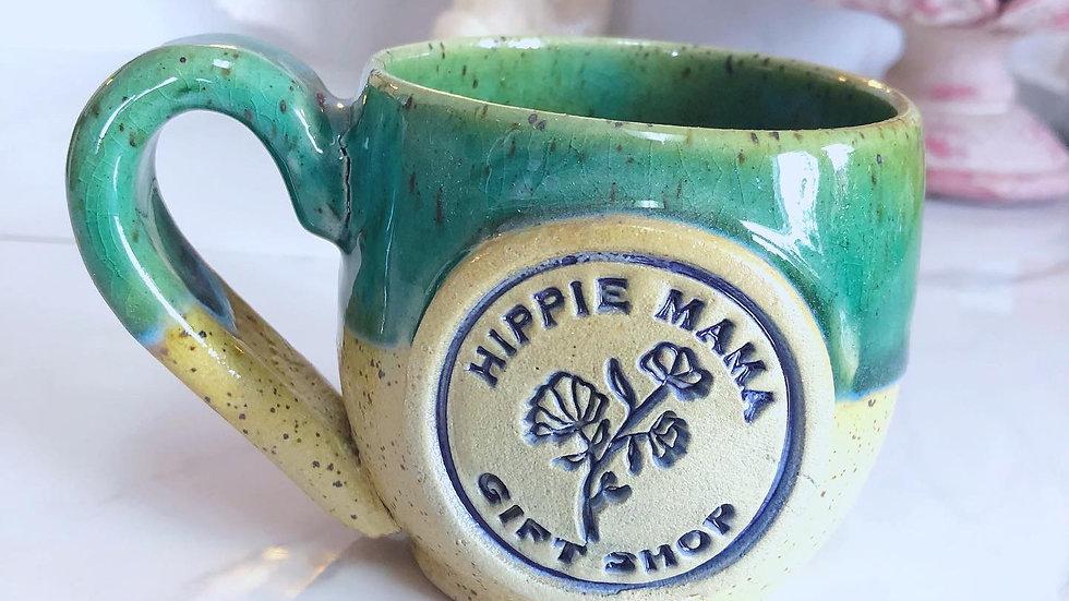 Stoneware Barrel Mug