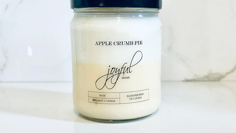 Apple Crumb Pie Soy Candle
