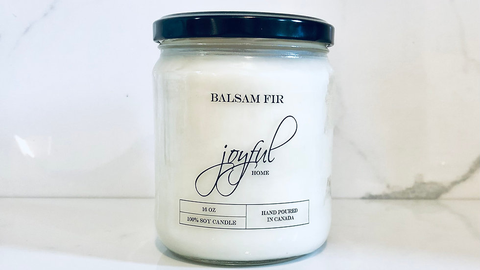 Balsam Fur Soy Candle