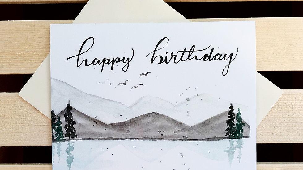Happy Birthday Mountains