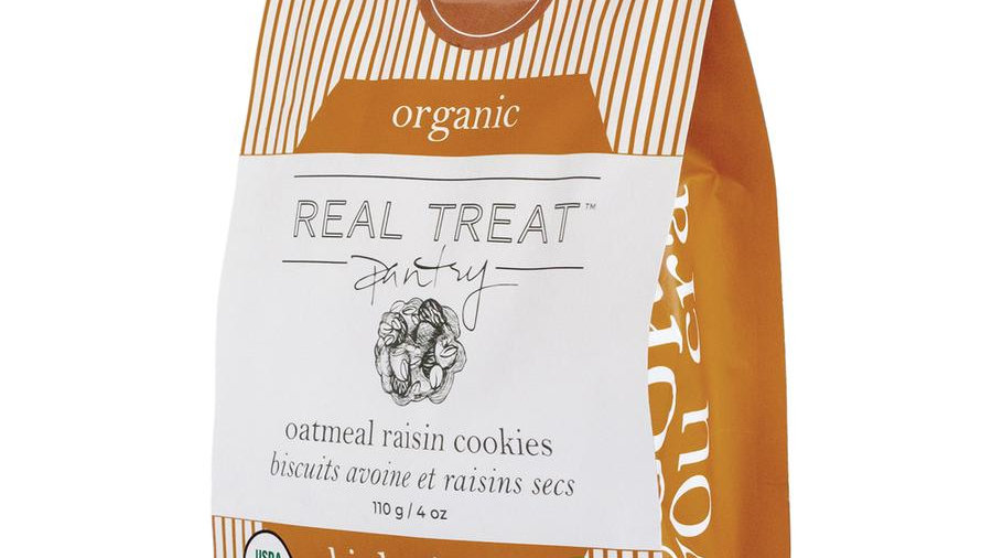 Organic Oatmeal Raisin Cookie