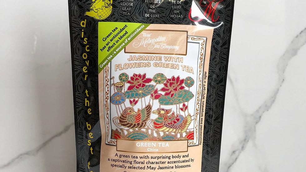 Green Tea - Jasmine with Flowers