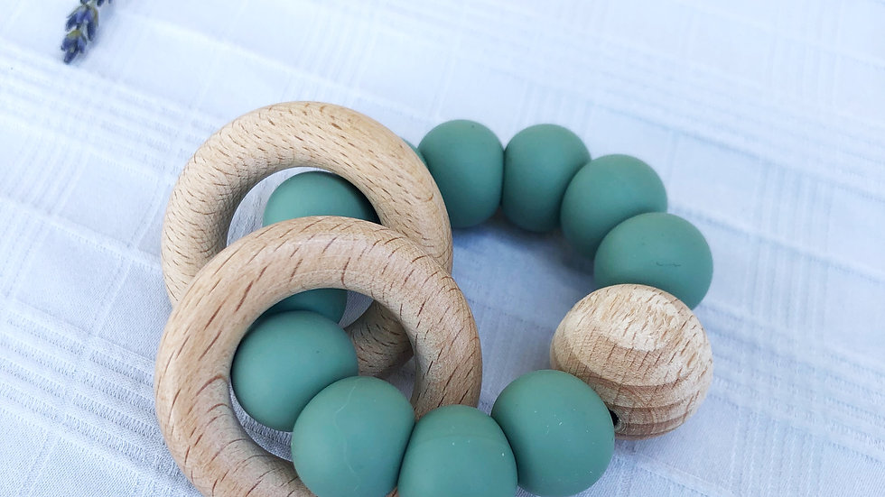 Teething Ring - Classic Rattle