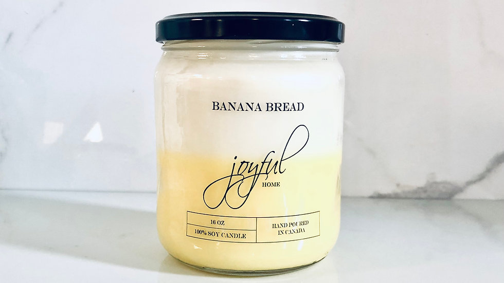 Banana Bread Soy Candle