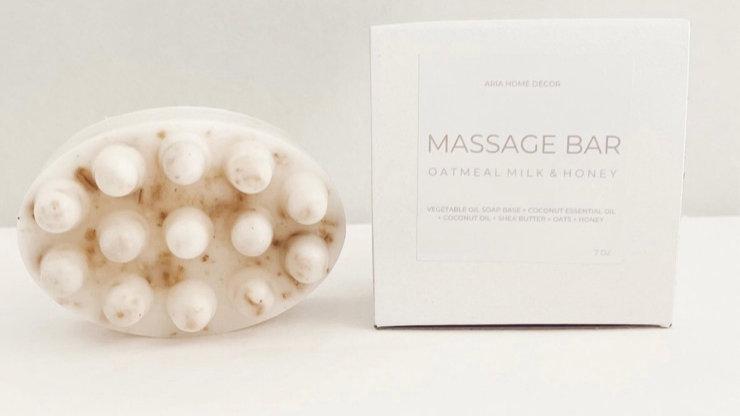 Oatmeal Honey Massage Bar