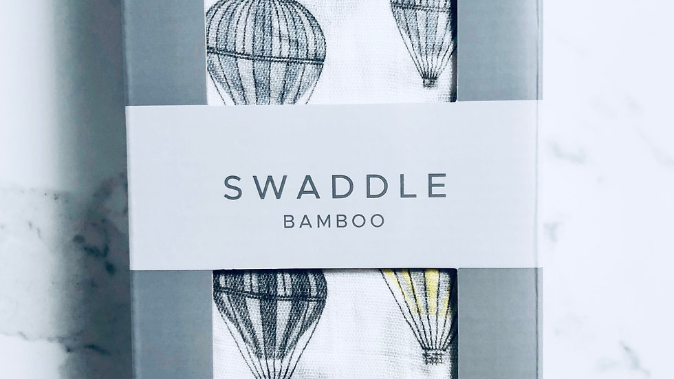 Swaddle Hot Air Balloon Bamboo