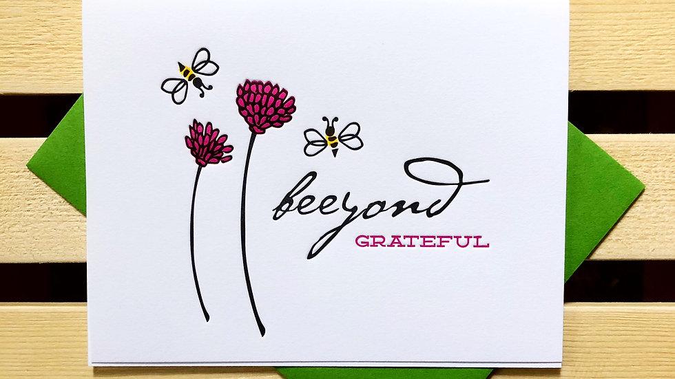 Beeyond Grateful