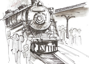 Why Trains Inspire my Novels